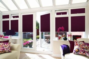 Sunroom Pleated Blind